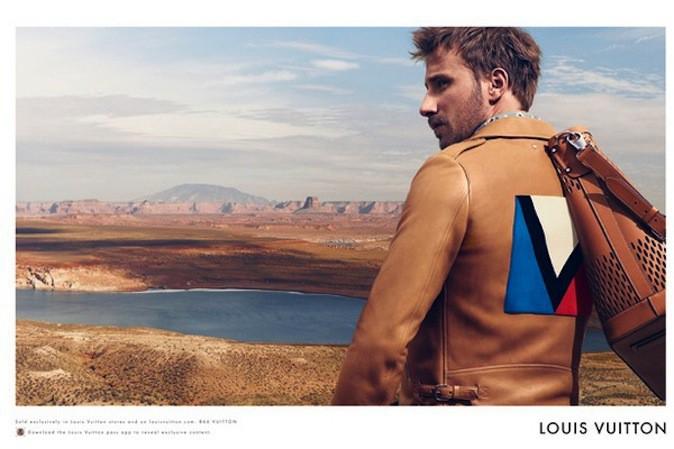 Matthias Schoenaerts pour Louis Vuitton