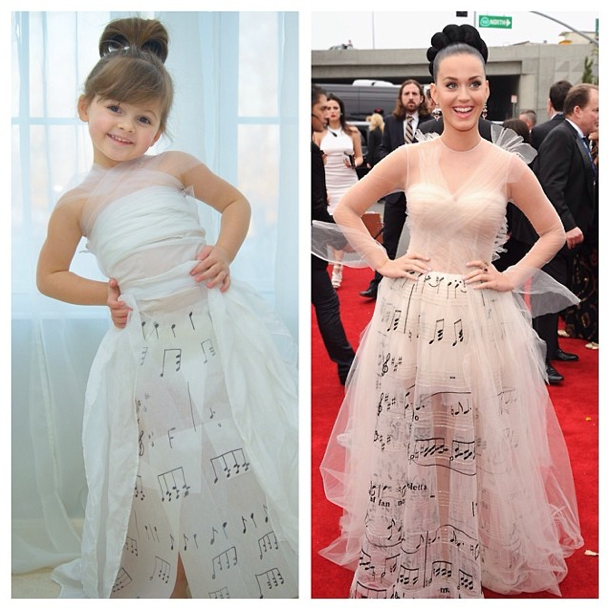 La robe de Mayhem VS la robe de Katy Perry !