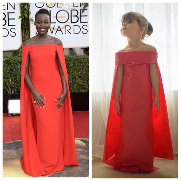 La robe de Mayhem VS la robe de Lupita Nyong'o !