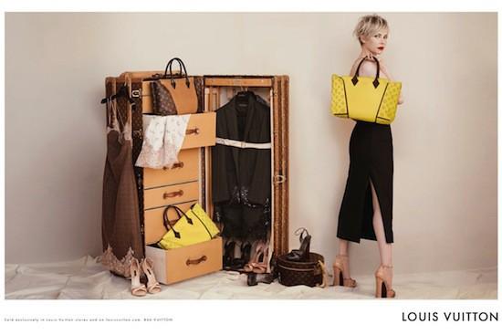 Mode : Michelle Williams : une beauté piquante et envoûtante pour Louis Vuitton !