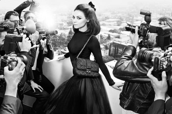 Mila Kunis égérie 50's pour Dior automne-hiver 2012