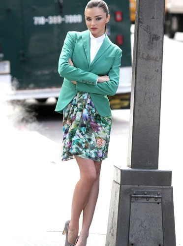 Miranda Kerr dans un shooting mode très fashion !