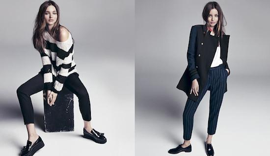 Mode : Miranda Kerr : envoûtante hipster new-yorkaise pour Mango !
