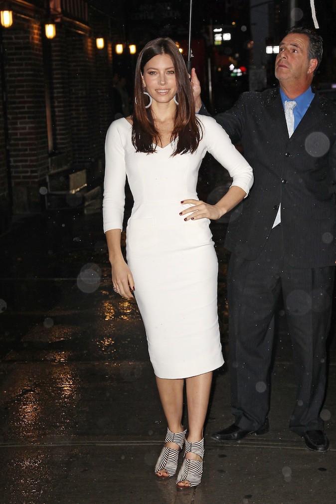 Jessica Biel en Victoria Beckham