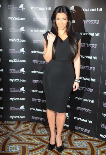 Kim Kardashian en Victoria Beckham