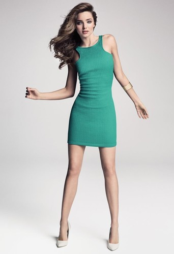 Miranda Kerr plus sexy que jamais sexy pour Mango !