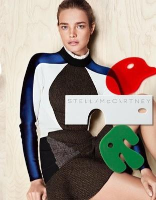 Natalia Vodianova pour Stella Mc Cartney automne/hiver 2012