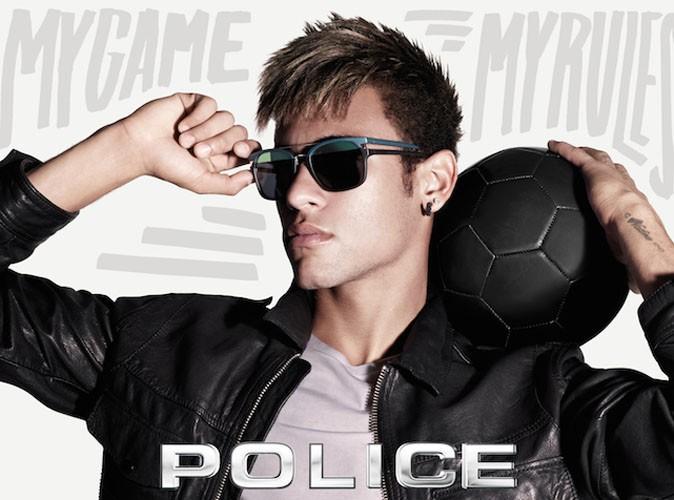Mode : Neymar : le joueur de foot brésilien égérie des lunettes de soleil Police !