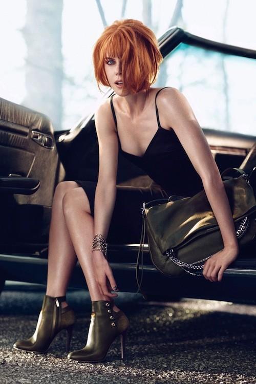 Mode : Nicole Kidman flamboyante et sauvage pour Jimmy Choo !
