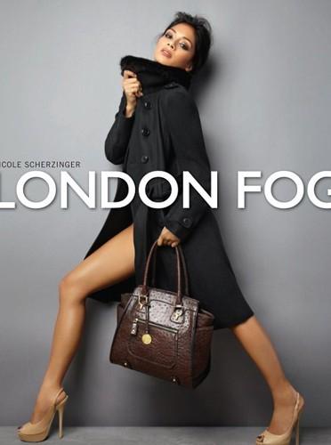 Nicole Scherzinger pose pour London Fog !