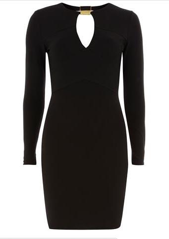Robe noire à 52€