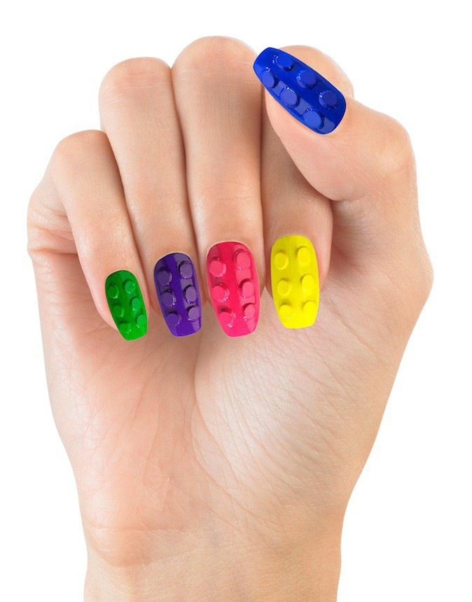 Nails patch, Lego, House of Holland sur Asos 12,63 €