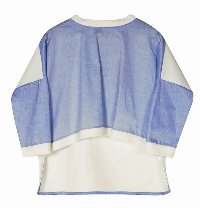Sweat bicolore, Zara 29,95 €