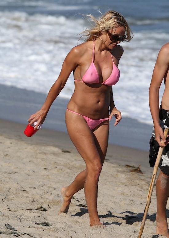 Pamela Anderson en 2009