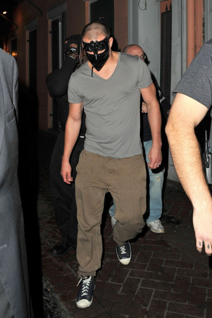 >> Channing Tatum : jamais sans ses masques !