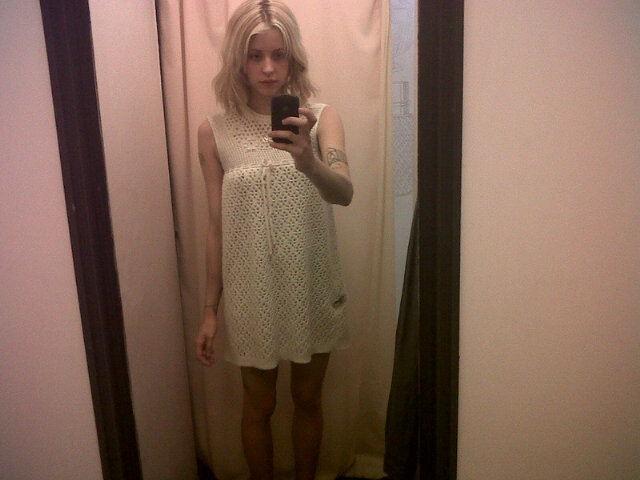 Peaches Geldof dans une robe Chloé vintage !