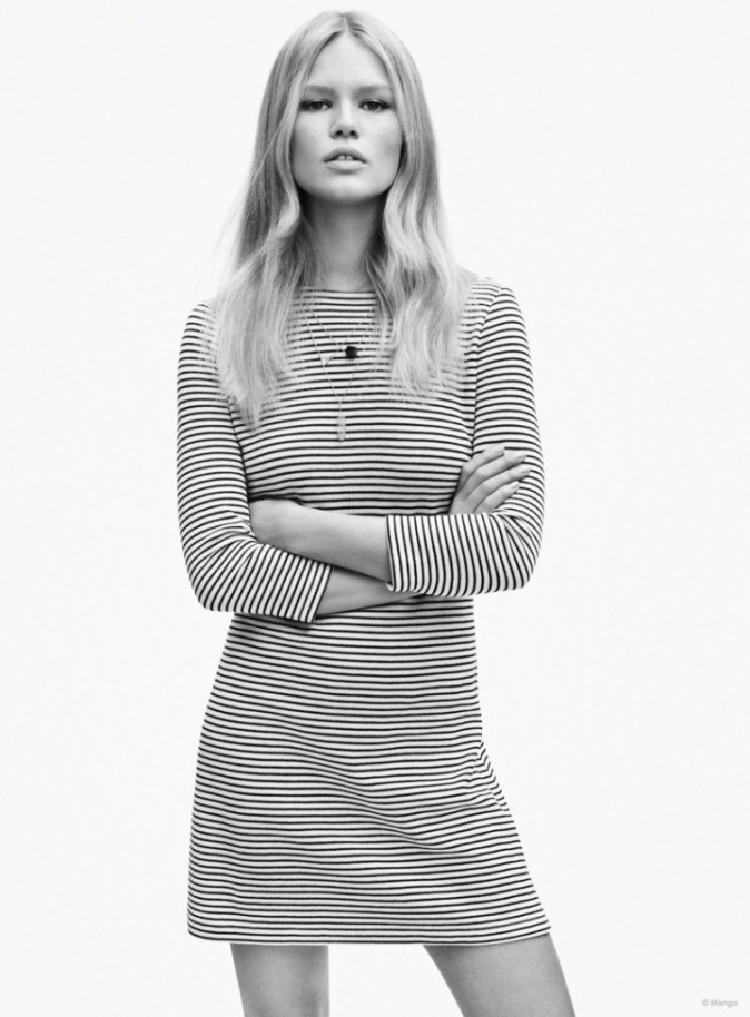 Mode : Photos : Anna Ewers, étoile montante de la mode en 2015 collabore avec Mango.