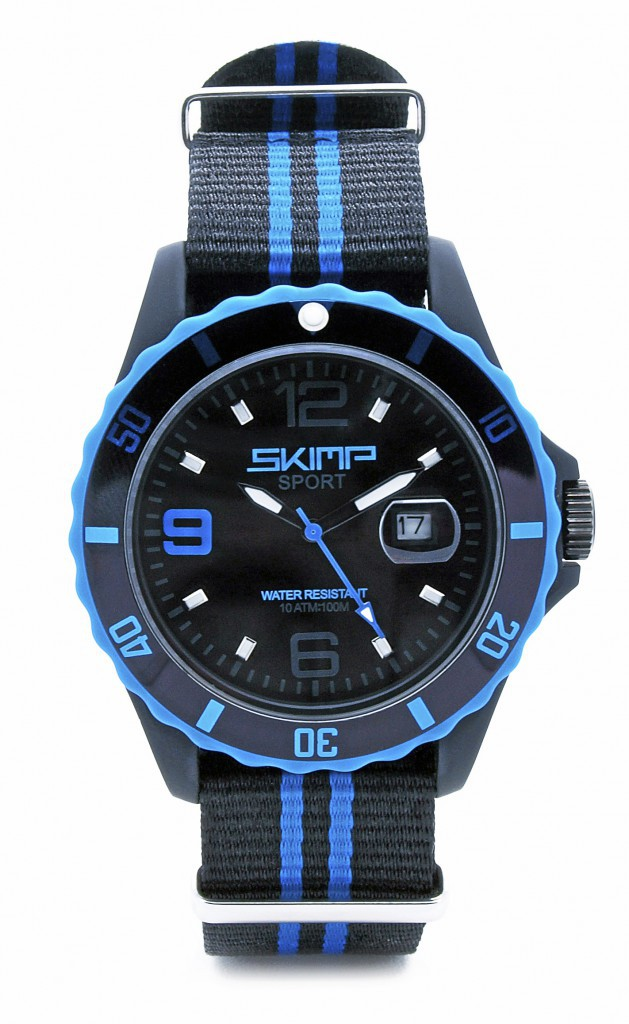 Montre et bracelet interchangeable, Skimp 89 €