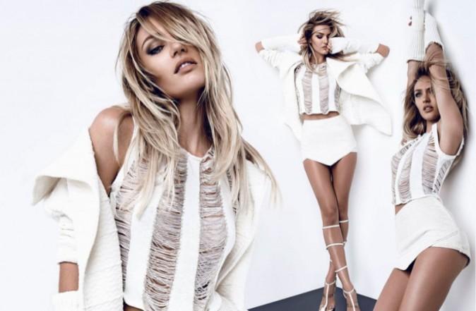 Mode : Photos : Candice Swanepoel : Rock et sexy pour Osmoze Jeans !