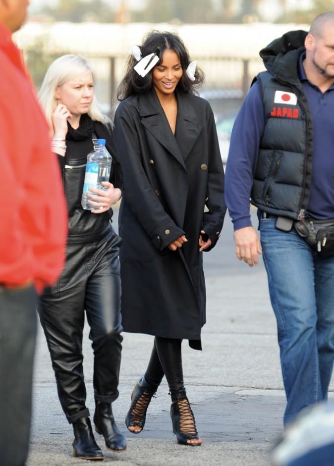 Mode : Photos : Ciara : plongez dans les coulisses de son shooting hot pour Vogue !