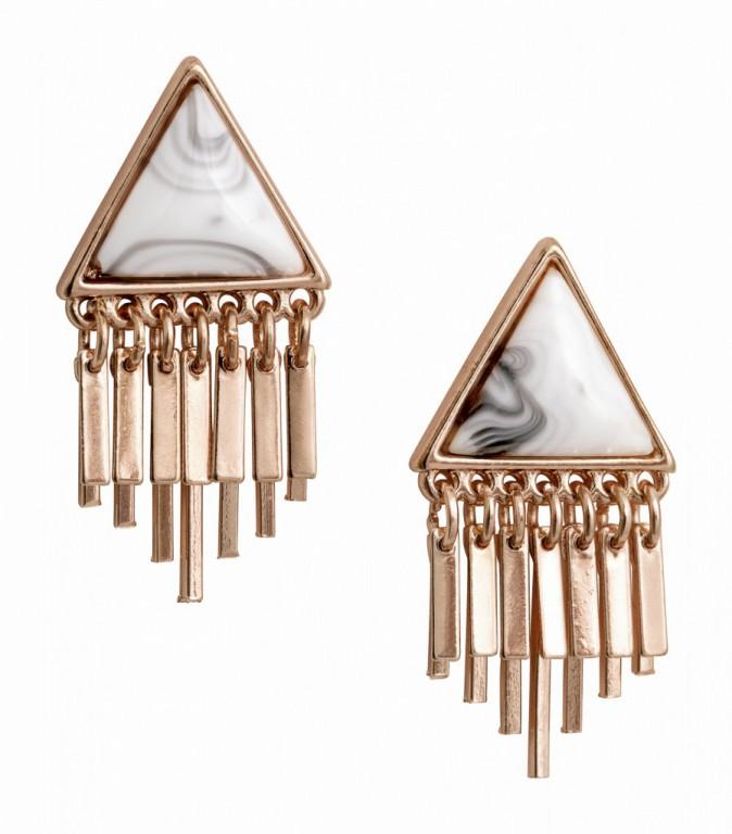 Boucles d'oreilles, H&M 9,95€