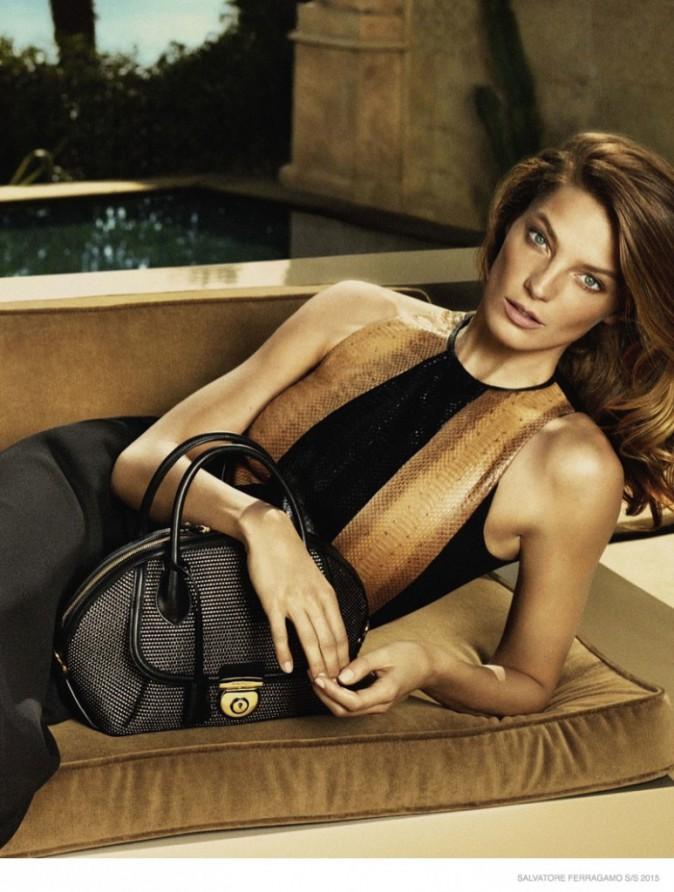 Mode : Photos : Daria Werbowy : star de la nouvelle campagne Salvatore Ferragamo !