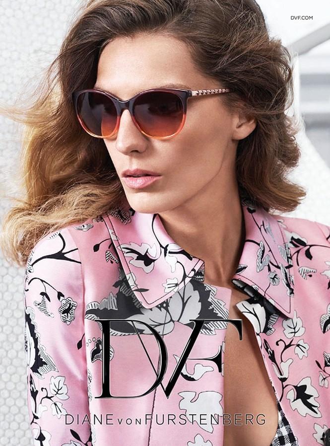 Mode : Photos : Daria Werbowy, toujours aussi sexy glam pour Diane Von Furstenberg