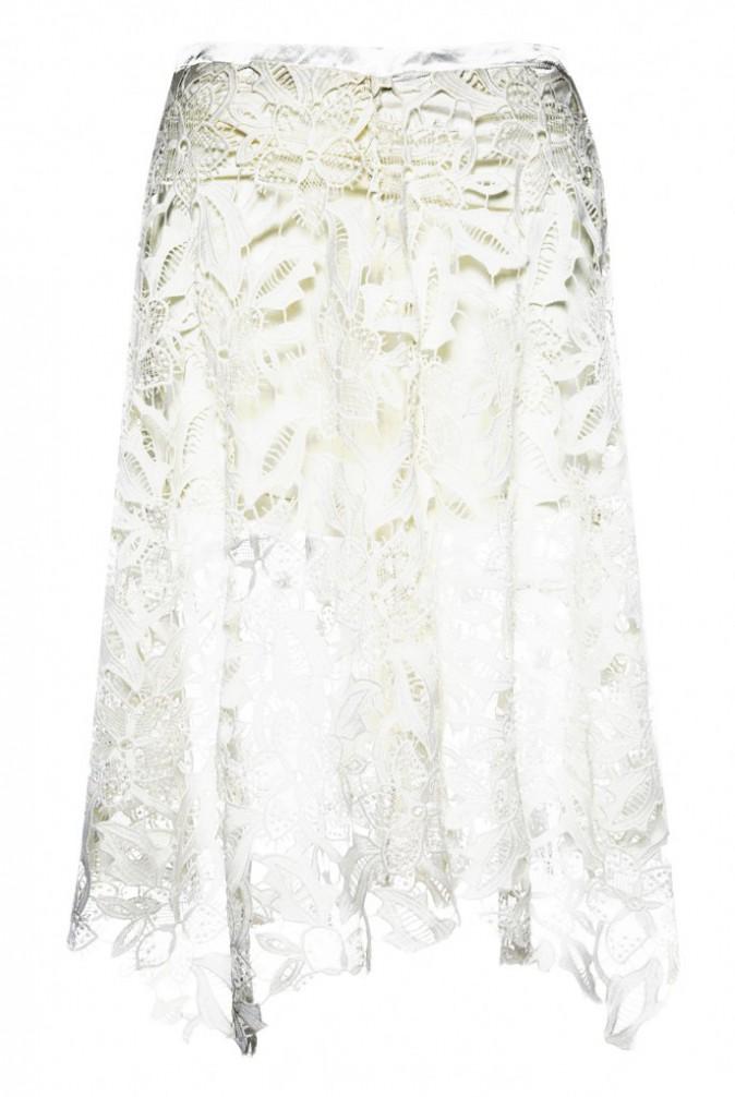 Le total look blanc : Jupe longue, Primark 15€