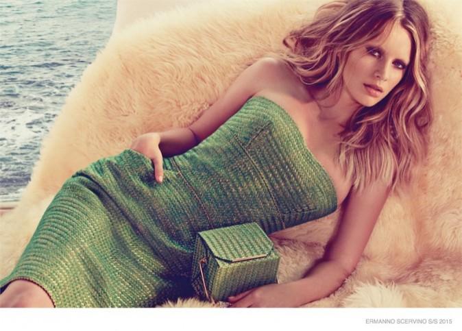Mode : Photos : Dylan Penn : la mannequin en herbe pose pour Ermanno Scervino !
