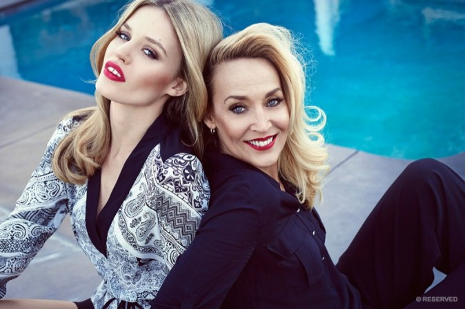 Mode : Photos : Jerry Hall, Georgia May et Lizzy Jagger : Mère et filles complices pour Reserved !