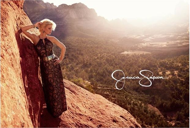 Mode : Photos : Jessica Simpson affronte sa plus grande peur pour sa nouvelle campagne !