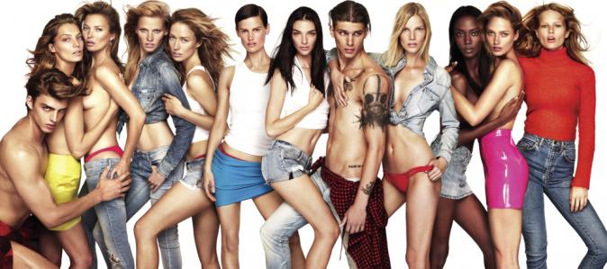 "Mode : Photos : Kate Moss, Lara Stone, Daria Werbowy, Raquel Zimmermann : ""beautiful"" pour W !"