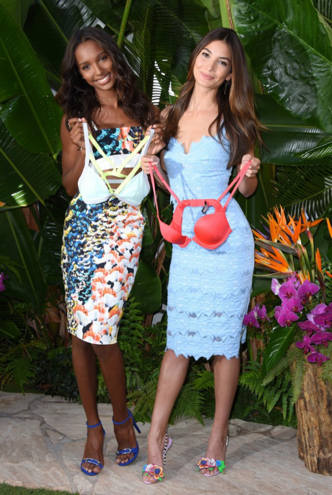 Mode : Photos : Lily Aldridge et Jasmine Tookes : complices et sexy à L.A pour Victoria's Secret !