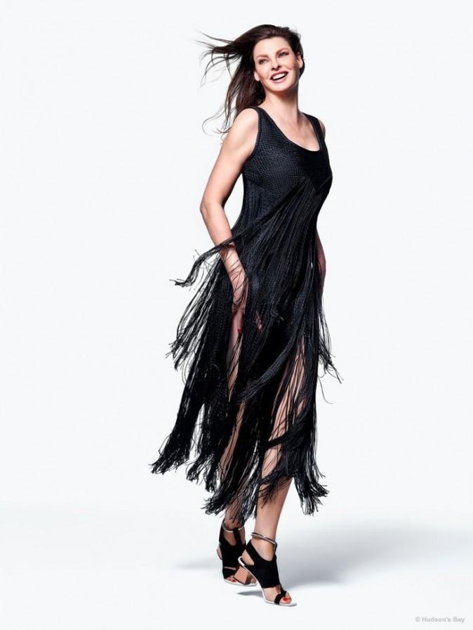 Mode : Photos : Linda Evangelista : Femme fatale au sourire ravageur pour The Room !
