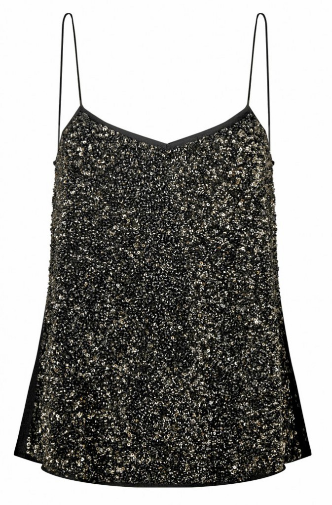 Top à sequins, Mango 39,99€