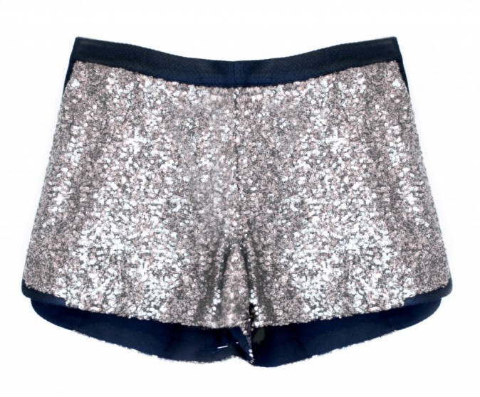 Short à sequins, Ange 49 €