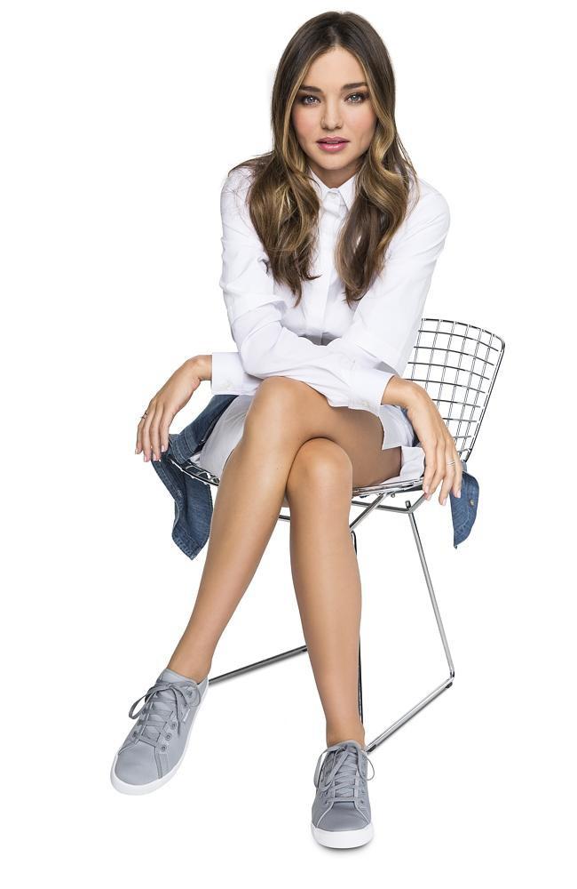 Mode : Photos : Miranda Kerr dévoile un ventre tonique et des jambes sublimes pour Reebok