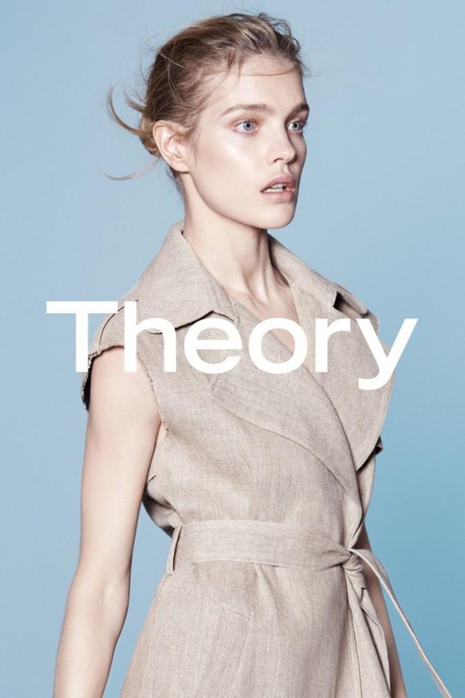 Mode : Photos : Natalia Vodianova : Naturelle, elle incarne le nouveau visage de Theory !