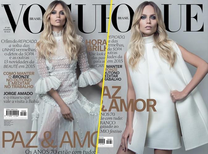 Mode : Photos : Natasha Poly : sublime bohémienne chic, elle s'offre deux couvertures pour Vogue !