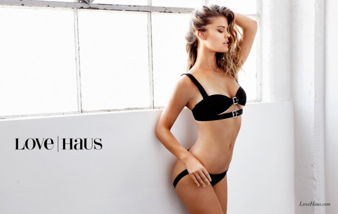 Mode : Photos : Nina Agdal : hot et sensuelle pour Love Haus de Beach Bunny !