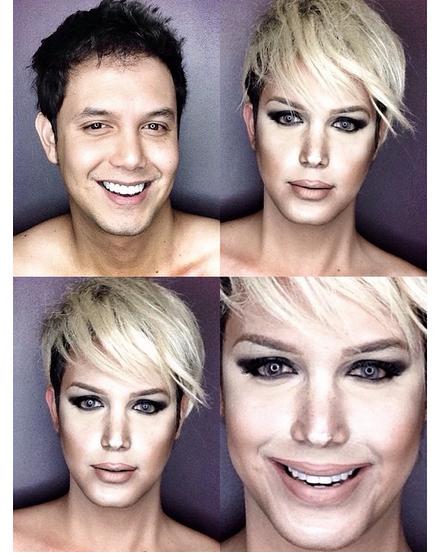 Paolo Ballesteros : Il se transforme en ...  Jennifer Lawrence !