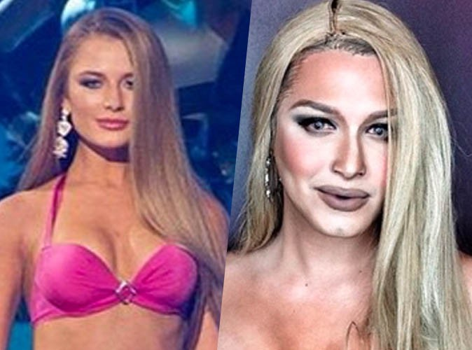 Paolo Ballesteros : Il se transforme en ...  Miss Ukraine, Diana Harkusha !