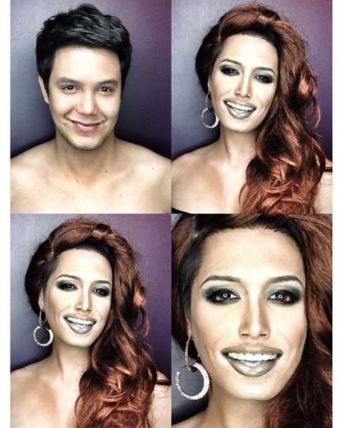 Paolo Ballesteros : Il se transforme en ... Miss USA, Nia Chanchez !