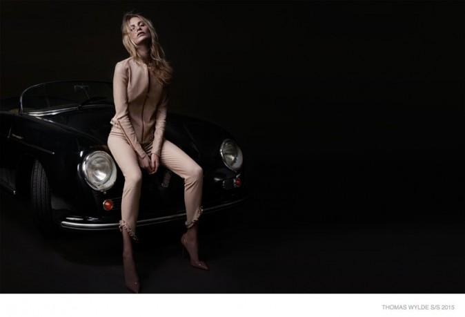 Mode : Photos : Poppy Delevingne : égérie sensuelle dans la nouvelle campagne Thomas Wylde !