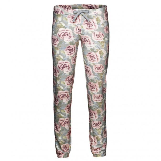 Pantalon à imprimé fleurs, New Yorker 12,95 €