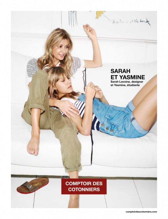 Mode : Photos : Sarah et Yasmine Lavoine, égéries complices pour Comptoir des Cotonniers !