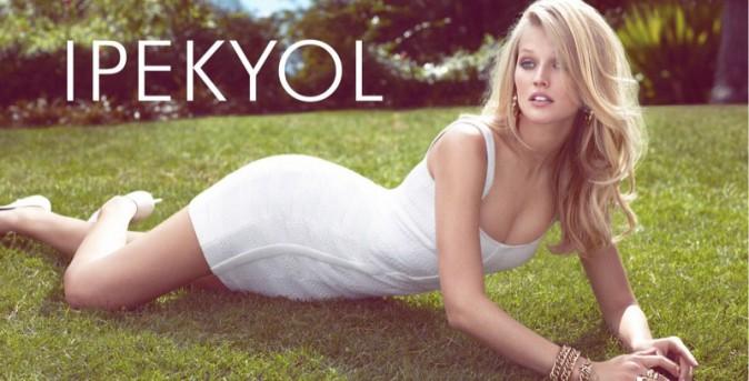 Mode : Photos : Toni Garrn : baby-doll chic pour Ipekyol !
