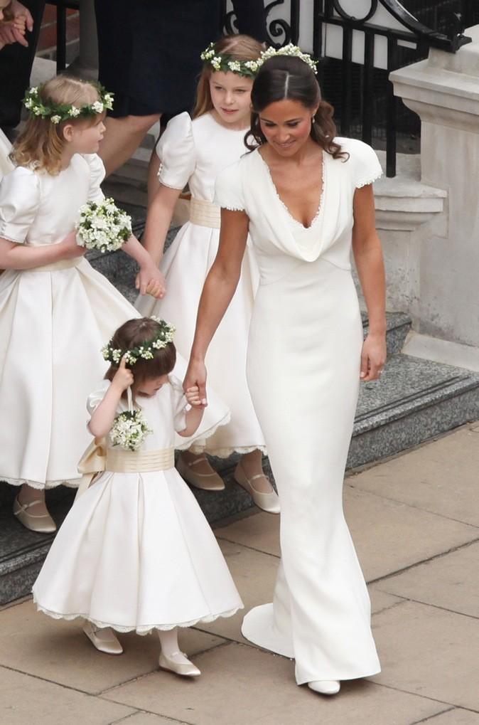Avril 2011 : Pippa Middleton au mariage de sa soeur Kate et du Pince William à Londres