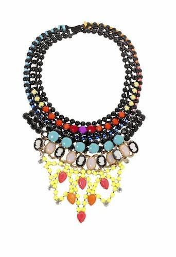 Collier multirang, orné de perles, asos.fr 52€