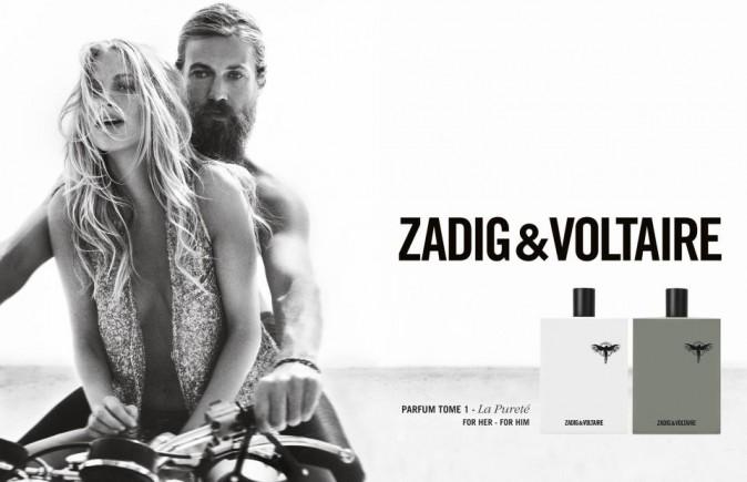 Poppy Delevingne et Chris Del Moro pour le nouveau parfum Zadig & Voltaire